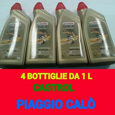 Castrol Power 1 Racing 2 Tempi  4 Litri