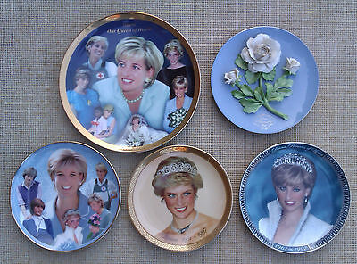 Lady Diana Princess Of Wales Decorative Plates Selection