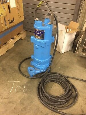 KEEN KG2-21C SUBMERSIBLE GRINDER PUMP 2 HP, 230 V, 1 PHASE, 14.5A, 60Hz
