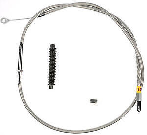 Harley-Davidson FLHRCI 1998-2006 Clutch Cable Stainless Braided by Barnett
