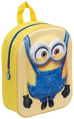 Despicable Me Minion 3D Backpack
