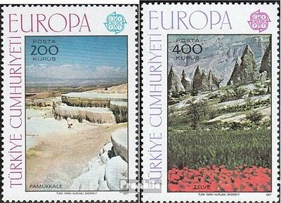 Turkey 2415-2416 (complete issue) unmounted mint / never hinged 1977 Europe: Lan