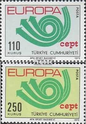 Turkey 2280-2281 (complete issue) unmounted mint / never hinged 1973 Europe