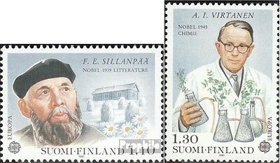 Finland 867-868 (complete issue) used 1980 Personalities