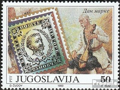 Yugoslavia 2564 (complete issue) unmounted mint / never hinged 1992 Day the Stam
