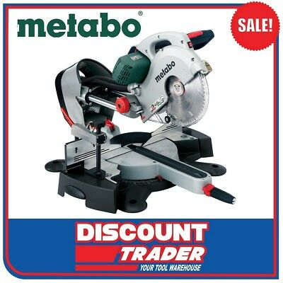 "Metabo 254mm (10"") Crosscut and Mitre Saws with Sliding Function - KGS 254 PLUS"
