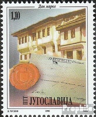 Yugoslavia 2739 (complete issue) unmounted mint / never hinged 1995 Day the Stam