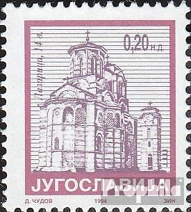 Yugoslavia 2674A (complete issue) unmounted mint / never hinged 1994 clear brand