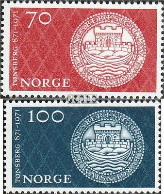 Norway 619-620 (complete issue) unmounted mint / never hinged 1971 Tonsberg