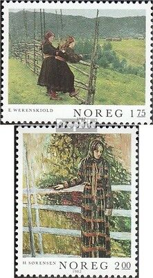 Norway 867-868 (complete issue) unmounted mint / never hinged 1982 Painting