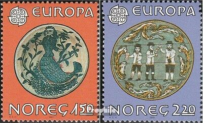 Norway 836-837 (complete issue) unmounted mint / never hinged 1981 Europe: Folkl