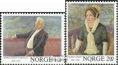 Norway 870A-871A (complete issue) unmounted mint / never hinged 1982 Writers