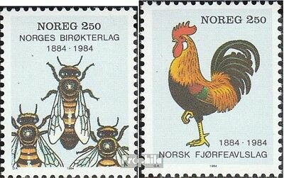 Norway 908-909 (complete issue) unmounted mint / never hinged 1984 beekeepers so