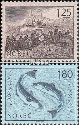 Norway 751-752 (complete issue) unmounted mint / never hinged 1977 Fishing