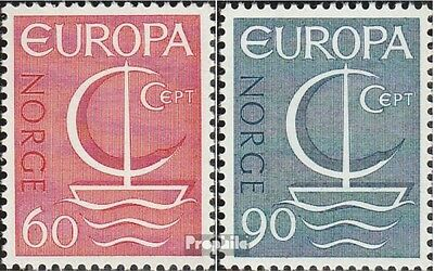 Norway 547-548 (complete issue) unmounted mint / never hinged 1966 Europe