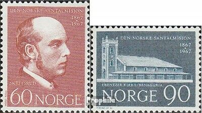 Norway 559-560 (complete issue) unmounted mint / never hinged 1967 norwegian san