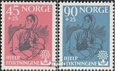 Norway 442-443 (complete issue) unmounted mint / never hinged 1960 World Refugee