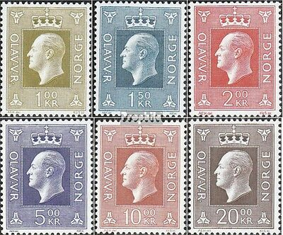 Norway 588-593 (complete issue) unmounted mint / never hinged 1969 Olaf
