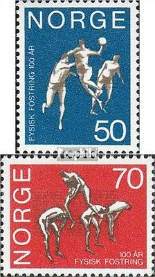 Norway 617-618 (complete issue) unmounted mint / never hinged 1970 Gymnastics