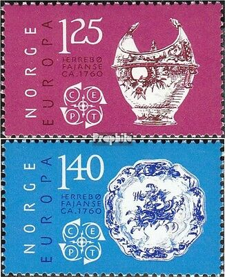 Norway 724-725 (complete issue) unmounted mint / never hinged 1976 Crafts