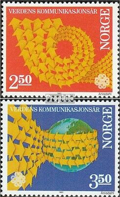 Norway 887-888 (complete issue) unmounted mint / never hinged 1983 World communi