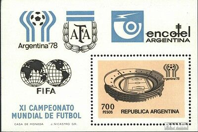 Argentina block20 (complete issue) unmounted mint / never hinged 1978 World Cup