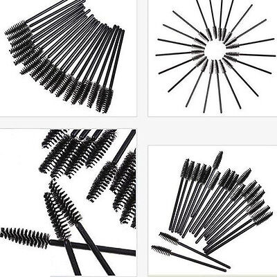 10PCS Rotate Eyebrow Brush Tool Cosmetic Brow Brush Oblique Design Makeup