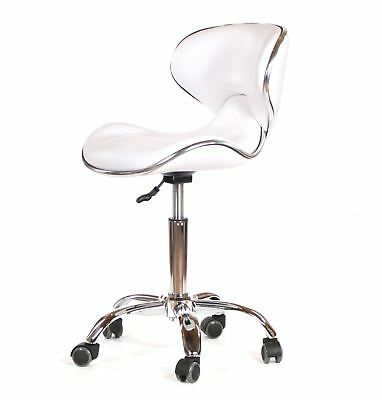 Urbanity hairdressing beauty manicure nail technician salon chair stool seat w
