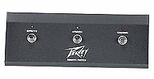 Peavey 6505Plus Head Footswitch W/ 3-Button Channel/Crunch & Effect 3582650 New
