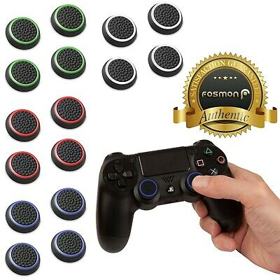 Fosmon PS4 PS3 Xbox Wii U Nintendo Switch 4x Controller ThumbStick Grips Cover