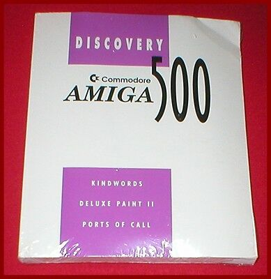 Discovery 500 for the Commodore Amiga Computer NEW SEALED