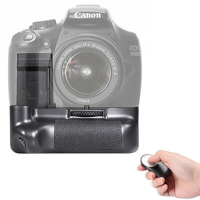 Neewer Wireless Remote Control + Battery Grip for Canon EOS 1100D 1200D 1300D