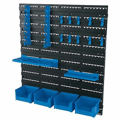 Draper Garage 18 Piece Tool Storage Board For Spanners/Screwdrivers/Bits - 22295