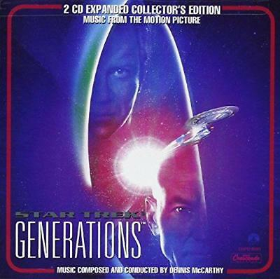 Star Trek: Generations Expanded Collectors Edition - Dennis Mccarthy (NEW 2CD)