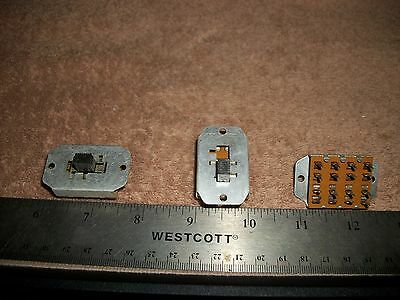 Lot Of 4 Pole 3 Throw 6A@125V Slide Switches-Radios-Stereos! S