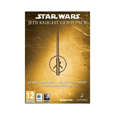 STAR WARS JEDI KNIGHT GOLD PACK game for Mac, NEW, Aust Stock !
