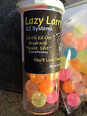 Lazy Larry's E-Z Systems Trout Beads 10mm Eastern Variety Large Pack, 30 beads