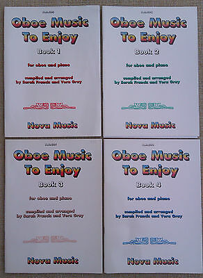 OBOE MUSIC TO ENJOY BOOKS 1 - 4 FOR OBOE & PIANO by S. FRANCIS & V. GRAY