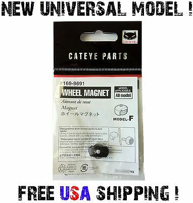 UNIVERSAL Bike Wheel Magnet Speed Sensor for ANY Bicycle Computer Wired Wireless