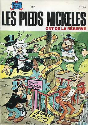 Les Pieds Nickeles N°124 . Eo . 1988 . Rare .
