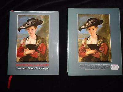 National Gallery Illustrated General Catalogue art book in slipcase 1986