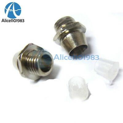 10PCS 3mm Clip Chrome Metal Bezel LED Holders Mounts