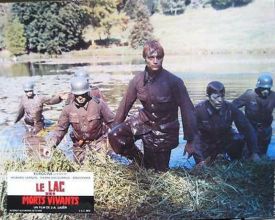 ZOMBIE LAKE 1981 JEAN ROLLIN 12 French Lobby-cards