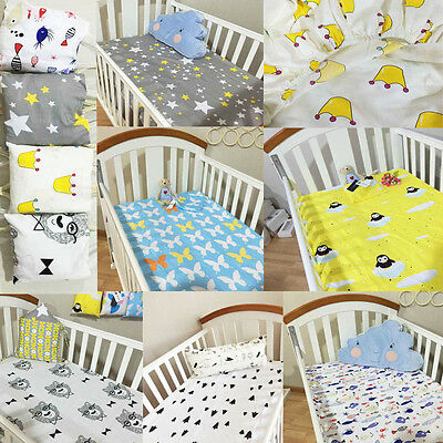 Nursery Infant Baby Crib/Cot fitted sheets Bedding sheets Dust Ruffles/bedskirts