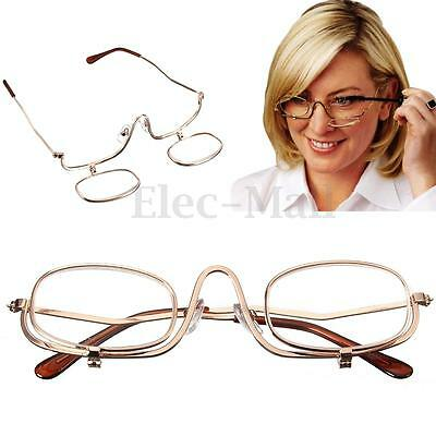 7 SIZES Magnifying Folding Flip Down Lens Makeup Glasses Spectacles Eye Cosmetic