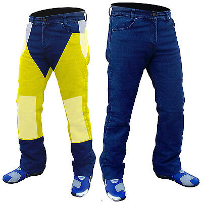 "MENS MOTORCYCLE REINFORCED WITH DuPont™ KEVLAR®  DENIM JEANS...28"" WAIST"