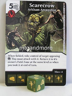 DC Dice Masters - 2x #064 Scarecrow Arkham Antagonist - World´s Finest