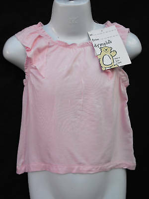 ~BNWT Baby Girls Sz 1 Gorgeous Pink Sleeveless Top~