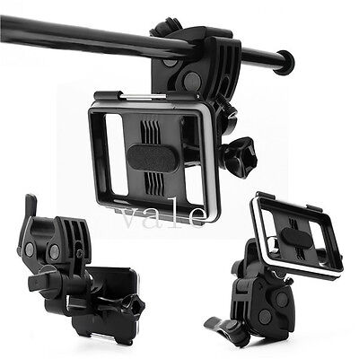 Outdoor Rifle Gun/Fishing Rod/Bow Sportsman Camera Mount Clip for GoPro 2 3 3+ 4
