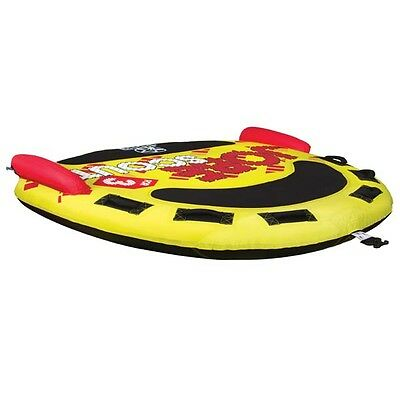 Jobe Scout 3 Person Towable Ski Tube Inflatable Biscuit Boat Ride